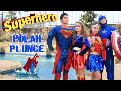 Favorite Character Polar Plunge 2017 | Brooklyn and Bailey Challenge Videos
