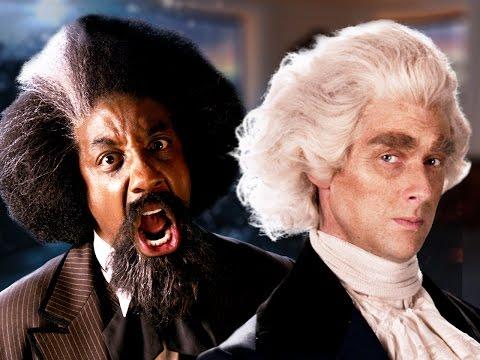 Frederick Douglass vs Thomas Jefferson. Epic Rap Battles of History Season 5