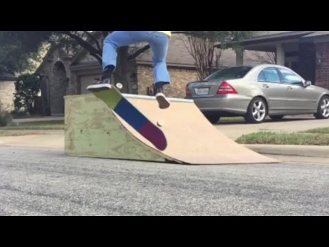 watch TODAY I LEARNED: KICKFLIP OFF QUARTER-PIPE