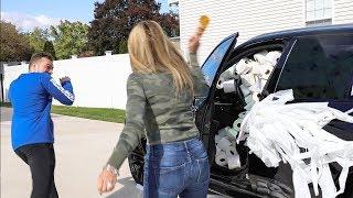 ANGRY MOM GETS CAR TEEPEE