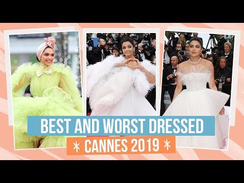 Xxx Mp4 Aishwarya Rai Bachchan Deepika Padukone Priyanka Chopra Best And Worst Dressed At Cannes 2019 3gp Sex