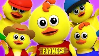 Nursery Rhymes For Kids | Cartoon Videos & Baby Songs For Toddlers | Farmees