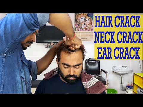 Xxx Mp4 Body Cracking Head Massage Amazing Barber Talent 3gp Sex