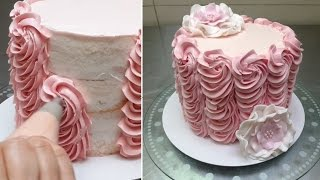 Buttercream Cake Decorating. Fast and Easy Technique by Cakes StepbyStep.