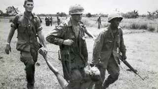 The Rolling Stones   Gimme Shelter ,  Vietnam War Images