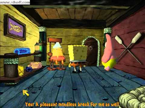 Spongebob the Movie PC Game Chapter 5 Entrenched Part 1