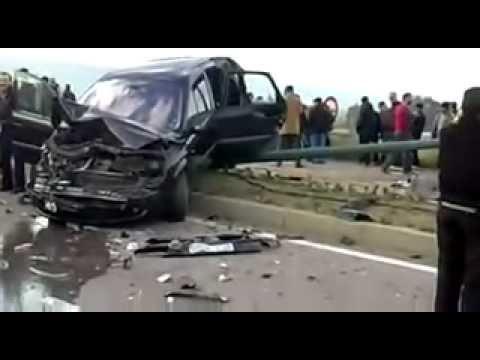 Accident Autoroute Rabat Salé El Jadida 28 2 2011