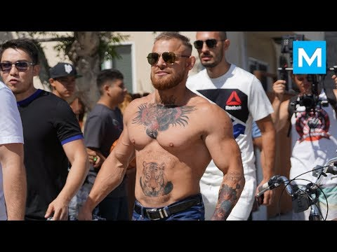 Conor McGregor Ready for Heavyweight Division Prank Muscle Madness