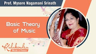 Learn Carnatic Music - Basic Theory