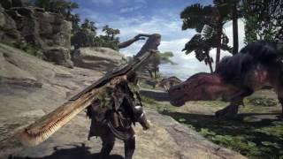 e3 2017  monster hunter world gameplay interview