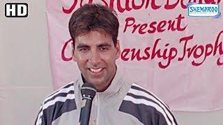 Akshay Kumar Scores A Goal To Win Football Match - Andaaz {2003} - Lara Dutta - Best Romantic Movie