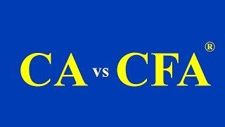 CA vs CFA