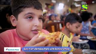 Sony YAY! Turns ONE | First Birth-YAY party celebrations with Domino