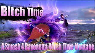 Bitch Time-Bayonetta Witch Time Montage [Super Smash Bros. for Wii U]