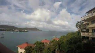 Time Lapse at Point Pleasant Resort - St. Thomas, USVI