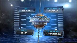 2011 NCAA Men's Basketball Selection Show (March Madness Tournament) 3-13-2011 - Part 1 of 6