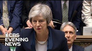 British Parliament rejects Theresa May