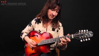 Weber Cutaway Red River Octave Mandolin Demo from Peghead Nation