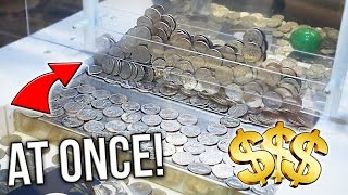 Coin Pusher    200 QUARTERS AT ONCE!!  ( CLOSED )