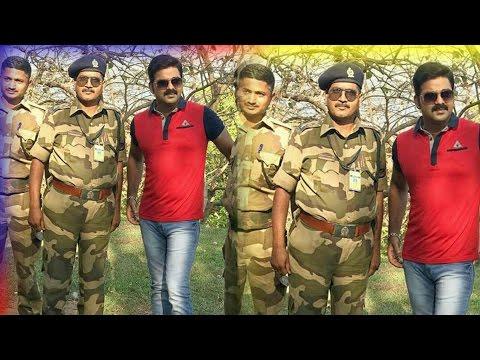 इंडियन आर्मी के सपोर्ट मैं गए पवन सिंह। Pawan Singh, who was supported by the Indian Army