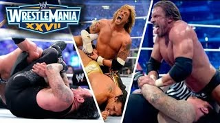 WWE WrestleMania 27 Full Highlights HD