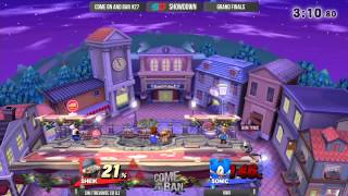 Come on and Ban #27 - Grand Finals: 6WX (Sonic) vs SiN Trevonte (Sheik)