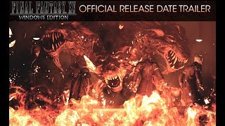 Final Fantasy XV Windows Edition: Official Release Date Trailer