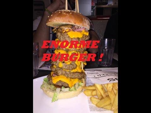 ÉNORMES BURGERS !!! Triple LA's Burger + Double LA's Burger