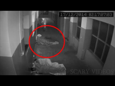 Ghost Coming Out Of mortuary Caught On CCTV Camera | Most Shocking Ghost Sighting | Scary Videos