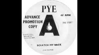 JAN PANTER - Scratch My Back