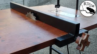 DIY: Fence (from scraps) For Saw - Jigsaw - Router Table