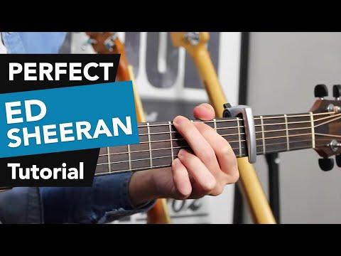 Perfect - Ed Sheeran Guitar Lesson Tutorial - how to play chords