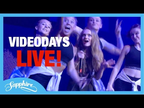 Download Lagu Faded / Let Me Love You / Black Magic / Into You - Sapphire LIVE at Videodays Cologne MP3
