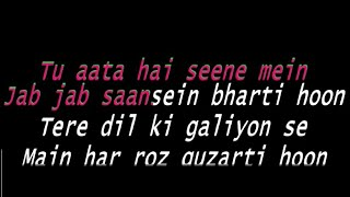 KAUN TUJHE YUN Karaoke with Lyrics M.S DHONI