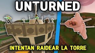 INTENTAN RAIDEAR LA TORRE DE SEATTLE | DEFENDIENDO LA BASE #4 | UNTURNED