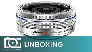 UNBOXING REVIEW | OLYMPUS M. Zuiko Digital 14-42mm F/3.5-5.6 EZ Compact Camera Zoom Lens