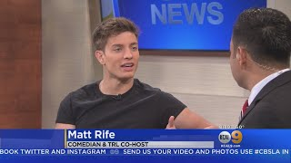 Comedian Matt Rife Shares Stories Of His Start In Comedy