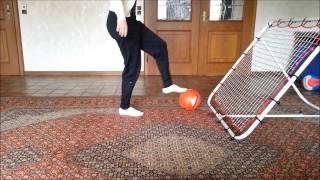 Rebounder - Fußball - Training - Tricks - Rückprallwand