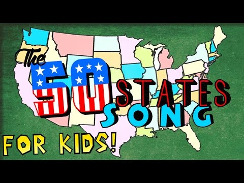 watch The Fifty States Song for Kids!
