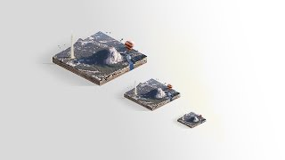 Isometric Photo-Manipulation Tutorial in Photoshop