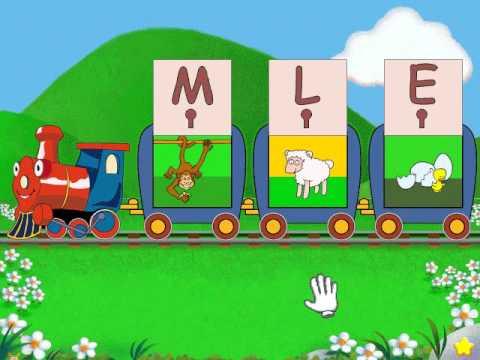 Reader Rabbit Toddler Part 9 Alphabet Express
