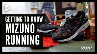 Getting to know Mizuno - the technology of the Wave Rider running shoe