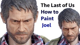 How to Paint - a 1/6 Scale Head Sculpt of Joel from The Last of Us