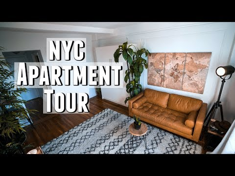 NYC Apartment Tour 300 sq. foot Minimalist Studio