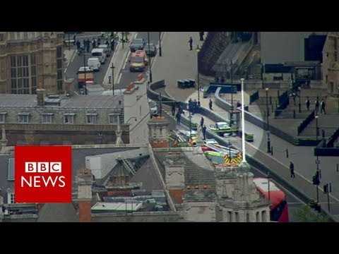 Xxx Mp4 Westminster Car Crash Man Arrested As Pedestrians Injured BBC News 3gp Sex