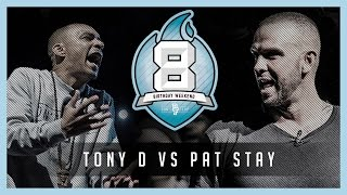 TONY D VS PAT STAY [Trailer] Don't Flop #8BW