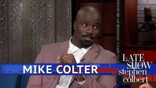Mike Colter And Stephen Reenact The First Edition