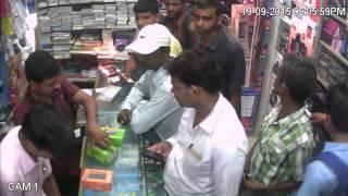 suprash electronic main mobile chor pakra gya