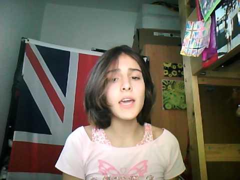 sabrina. primer video cantando.i hope you like it.