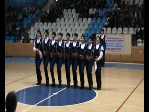 Erzincan Folklor Ekibi Türkiye birincisi Team Erzincan Turkey winner Folklore